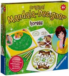 Ravensburger  knutselspullen Mandala-Designer Horses 2 in 1