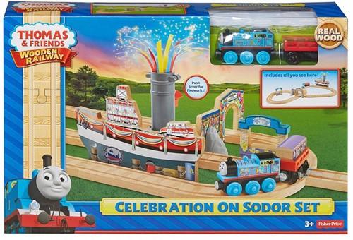 Thomas and Friends  houten trein set Celebration on Sodor Set