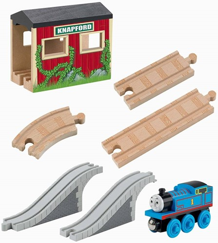 Thomas and Friends  houten trein set 5 in 1 Up And Around Set-2