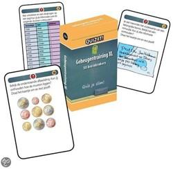 Schoolsupport leerkaarten Quiz it! Geheugentraining XL