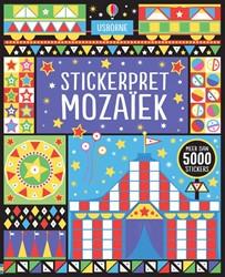 Usborne  stickers stickerpret mozaiek 4+