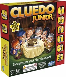 Hasbro  kinderspel Cluedo Junior