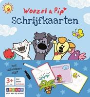 Zwijsen  leerkaarten Woezel & Pip Schrijfkaarten