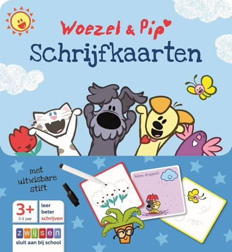 Zwijsen Woezel & Pip schrijfkaarten
