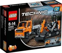 Lego  Technic set Wegenbouwploeg 42060