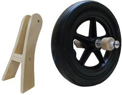 Dijk-Trike wiel en standaard