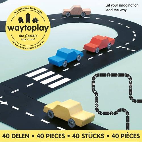 Waytoplay startset Koning van de weg - 40 stuks