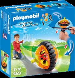 Playmobil Action - Monobike oranje  9203