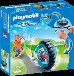 Playmobil Action - Monobike blauw  9204