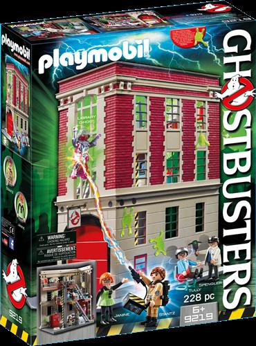 Playmobil Ghostbusters - Ghostbusters™ Brandweerkazerne  9219