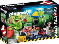 Playmobil Ghostbusters - Slimer en hotdogkraam  9222
