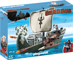 Playmobil Dragons Drako's schip 9244