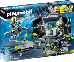 Playmobil Top Agents - Dr. Drone's commandocentrum  9250