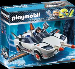 Playmobil Top Agents - Agent P.'s Super racer  9252