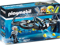 Playmobil Top Agents - Megadrone  9253