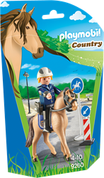 Playmobil - Country - Bereden politie
