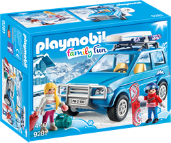 Playmobil Family Fun 4x4 met dakkoffer 9281