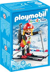 Playmobil Family Fun Biatlete 9287