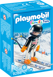 Playmobil Family Fun Skïer 9288