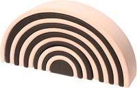 Grimm's 12-delige monochrome houten regenboog