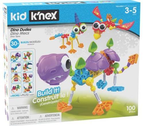 K'nex Kid  - Dino Dudes Building Set