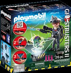Playmobil ghostbusters Raymond Stantz 9348