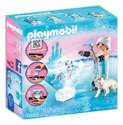 Playmobil ice princess prinses winterbloesem 9353