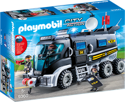 Playmobil City Action - SIE-truck met licht en geluid  9360