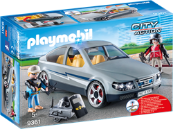 Playmobil City Action - SIE-anonieme wagen  9361