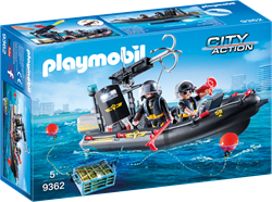 Playmobil City Action - SIE-rubberboot  9362