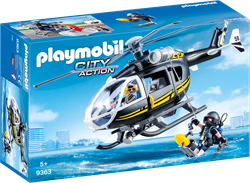 Playmobil City Action - SIE-helikopter  9363