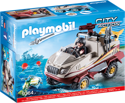 Playmobil City Action - Amfibievoertuig   9364