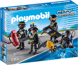 Playmobil City Action - SIE-team  9365