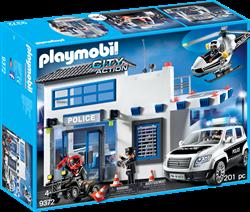 Playmobil City Action Politiepost met Voertuigen 9372 4008789093721