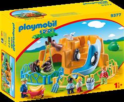 Playmobil 1.2.3 - Dierenpark   9377