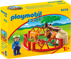 Playmobil 1.2.3 - Leeuwenverblijf  9378