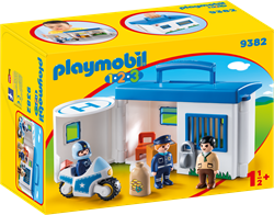 Playmobil 1.2.3 - Meeneempolitiestation  9382