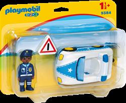 Playmobil 1.2.3 Politiewagen  9384