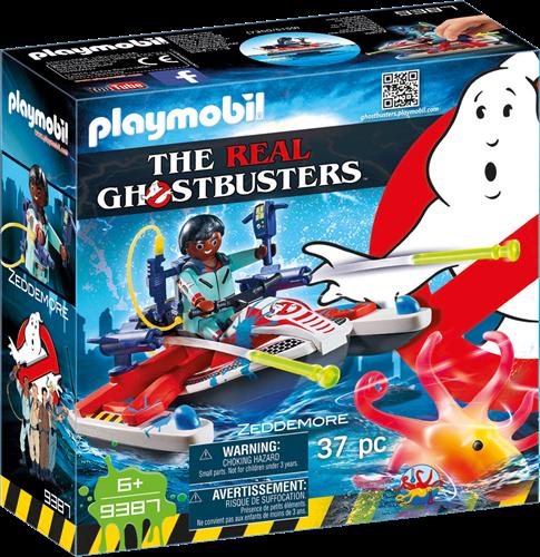 Playmobil Ghostbusters - Zeddemore met waterscooter  9387