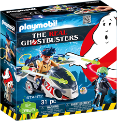 Playmobil Ghostbusters - Stanz met luchtmoto  9388