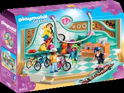 Playmobil City Life Fiets- en Skatewinkel 9402