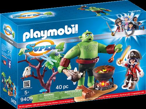Playmobil Super 4 - Reuzetrol met Ruby   9409