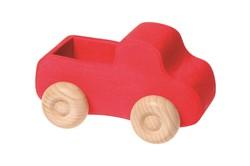 Grimm's rode houten vrachtwagen 9410
