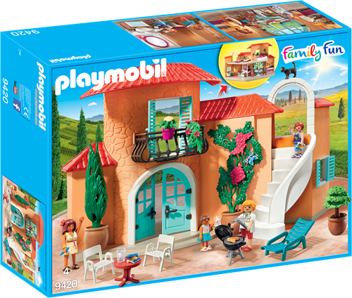 Playmobil Family Fun - Vakantievilla  9420