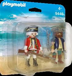 Playmobil DuoPacks - DuoPack Piraat en soldaat  9446
