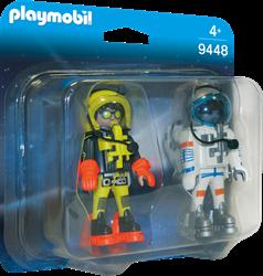 Playmobil DuoPacks - DuoPack Ruimtereizigers  9448