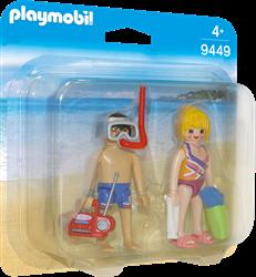 Playmobil DuoPacks - DuoPack Badgasten  9449