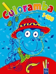 Planet Happy  kleurboek Coloramba 1 tot 100 2