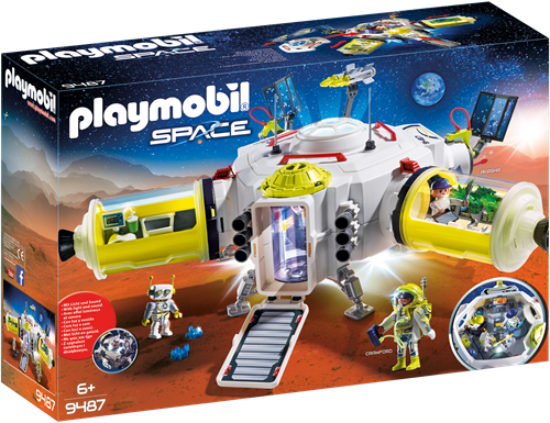 Playmobil Space - Ruimtestation op Mars  9487