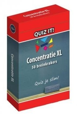 Schoolsupport leerkaarten Quiz it! Concentratie XL